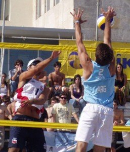 El Volleybal Playa chileno rumbo a Londres 2012