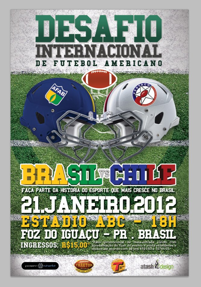 564cfb012 Chile enfrenta a Brasil en partido de Football Americano – El Deportero