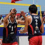 Marco y Esteban Grimalt al tope del ranking sudamericano del Beach Volley