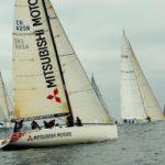 Yates del Nacional VTR Oceánico rindieron homenaje a la Armada de Chile