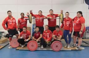 Selección Chilena de Levantamiento de Pesas cosecha varias medallas en el torneo Manuel Suarez