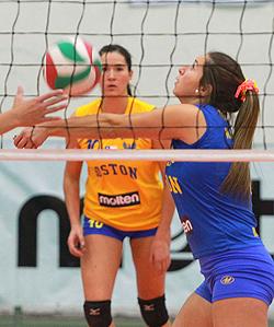 image Voleibol chileno boston college vs manquehue