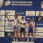 Cristian Cornejo logró Medalla de Bronce en el Mundial Junior de Ciclismo en Pista