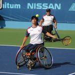 Tenistas chilenos debutan este sábado en los Juegos Paralímpicos