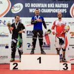 Sebastián Vásquez obtiene medalla de oro en el Campeonato Mundial Master de Mountain Bike