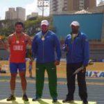 Hevertt Álvarez logra la medalla de plata del lanzamiento de martillo en Sudamericano Sub-23 de Atletismo