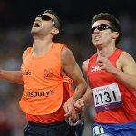 Cristián Valenzuela se viste de oro en los Juegos Paralímpicos
