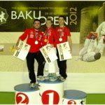 Karatecas chilenos logran medallas en el Open de Azerbaijan
