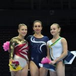 Bárbara Achondo se viste de oro en etapa de la Copa Mundial de Gimnasia realizada en Ostrava