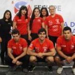 Selección chilena de pesas regresa al país tras obtener 39 medallas en torneo Manuel de Suarez de Cuba