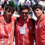 Tres records nacionales logran lanzadores de martillo de la Araucanía