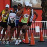 Edward Araya y María Paz Ríos baten récords nacionales en marcha atlética y jabalina