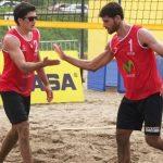 Los Primos Grimalt realizan una jornada perfecta en la cuarta fecha del Circuito Sudamericano Beach Volley