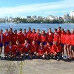 Dos medallas de oro gana Chile en la primera jornada del Sudamericano de Remo
