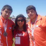 Belén Quintana logra nuevo récord nacional del lanzamiento de martillo categoría menores