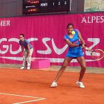 Daniela Seguel fue eliminada en la primera ronda del ITF 100K de Cagnes Sur Mer