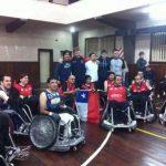 Selección de Quad Rugby va por el quinto lugar en el Sudamericano de Colombia