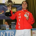 Daniela Lepín se coronó campeona sudamericana de karate