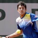 Christian Garín debutará ante un coreano en el torneo junior de Wimbledon