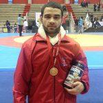 Eduardo Gajardo logró la segunda medalla de oro chilena en el Sudamericano Adulto de Lucha Olímpica