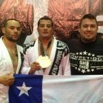 Talquino Claudio Cea se coronó campeón mundial de Jiu Jitsu en Brasil
