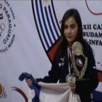 Valentina Ríos se consagró como campeona sudamericana Sub 11 de Tenis de Mesa en Asunción