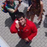 Humberto Mansilla logró medalla de bronce en el Panamericano Juvenil de Atletismo