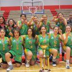 Universidad Austral logró el título de la Liga Femenina de Básquetbol categoría Sub-15