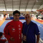 Ariel Mancilla logró la medalla de plata en Wushu de los World Games 2013
