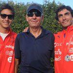 Rodrigo y Felipe Miranda participarán este jueves en el Pro Waterski Shoot Out de Calgary