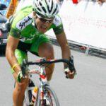 Edison Bravo se quedó con el tercer lugar de la Vuelta a Palencia