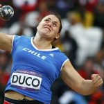 Natalia Ducó logra histórica clasificación a la final del lanzamiento de la bala en Moscú