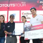 Felipe Aguilar ganó en estrecha definición el Shootouts Tour 2013