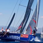 Yate chileno 'Mitsubishi' marcha tercero a una jornada del final en Copa del Rey de España