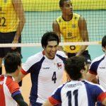 Chile se despidió del Sudamericano Adulto de Volleyball con digna presentación ante Brasil