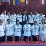 Alejandro Mellado y Jessy Reyes se coronaron campeones en el Budapest Open Karate