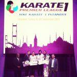 Gabriela Bruna obtuvo medalla de oro en el Open Karate Estambul