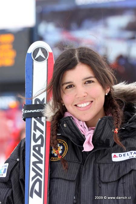 Noelle Barahona Se Coron 243 Campeona De La South American Cup 2013 En Slalom Gigante El Deportero