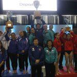 Martina Castro, Joel Álvarez y Cristian Bruno brillaron en la final por aparatos de la gimnasia artística