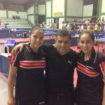 Dos medallas de oro obtuvo Chile en nueva jornada del Sudamericano de Tenis de Mesa