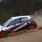 Jorge Martínez se mantiene en la lucha por el título de la R3 en el Rally Mobil