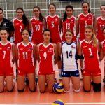 Selección Premenor Femenina de Voleyball debutó con derrotas en el Sudamericano