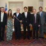 Presidente de la República recibió a Felipe Miranda en La Moneda