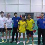 Chile logró medalla de bronce por equipos en el Sudamericano Junior de Badminton
