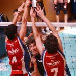Universidad Católica mantiene el liderato en varones de la Copa Providencia de Volleyball