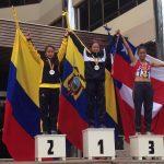 Michelle Varas logró medalla de bronce en el Sudamericano de Marcha
