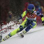 Noelle Barahona no culminó la prueba de slalom gigante en el Mundial de Ski Alpino