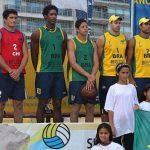 Primos Grimalt lograron el segundo lugar en nueva fecha del Sudamericano de Volley Playa