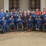 Presidenta de la República recibió a los medallistas de los Juegos Parasuramericanos