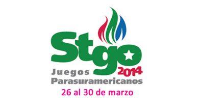 Logo Juegos Parasuramericanos Santiago 2014
